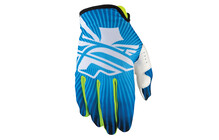 Fly Racing Lite Gants longs bleu/blanc